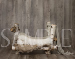 Birch Bed Backdrop - sample2