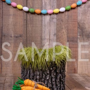 newborn backdrop easter tree stump