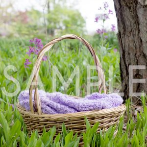 spring basket outdoor newborn backdrop